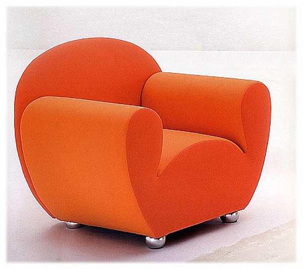 Sessel GIOVANNETTI L AGOSTINA1 Color arancia