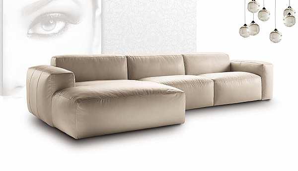 Couch NICOLINE SALOTTI PIUMA BRACCIO BASSO PICCOLA SARTORIA