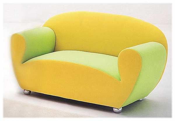 Couch GIOVANNETTI L AGOSTINA2 Color arancia