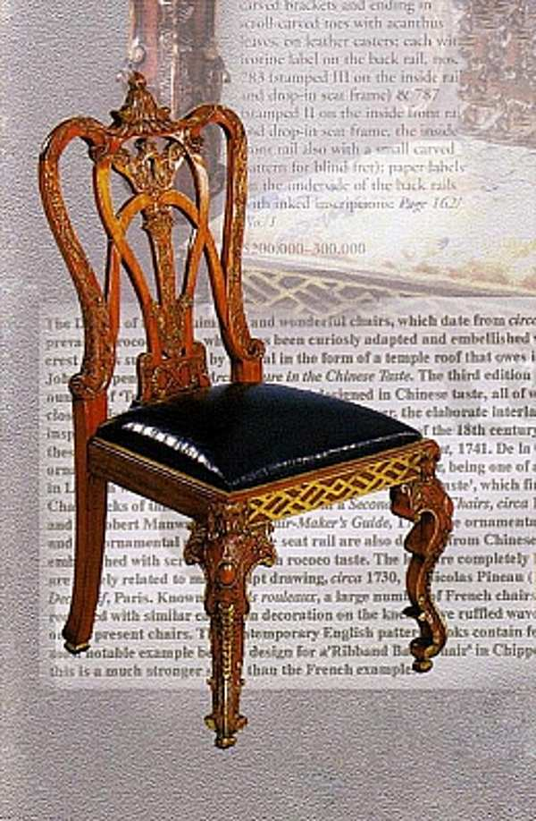 Der Stuhl CAMERIN SRL 136 The art of Cabinet Making