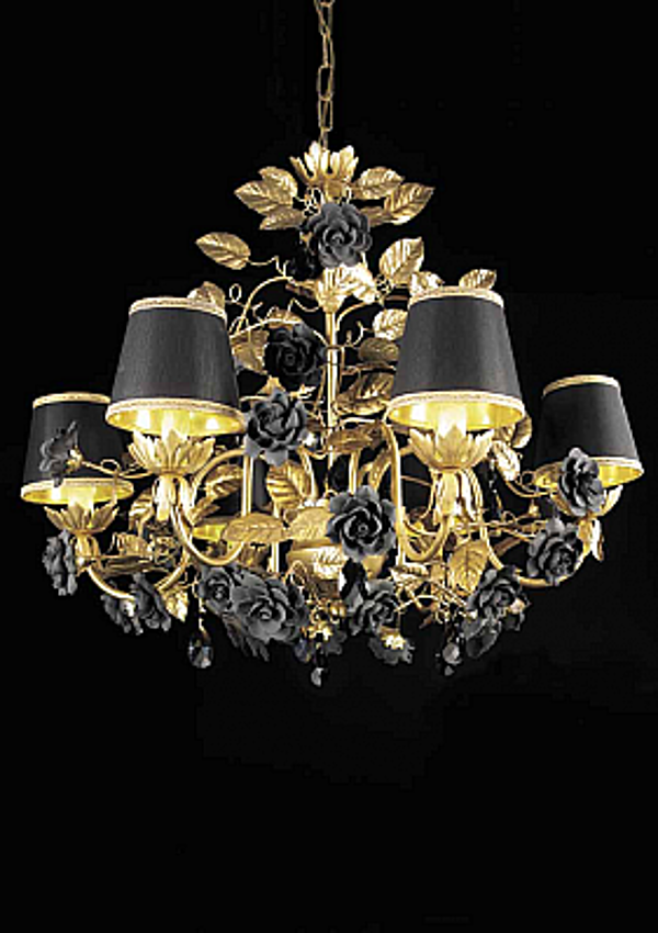 Leuchter VILLARI 4024316-802 Black & gold