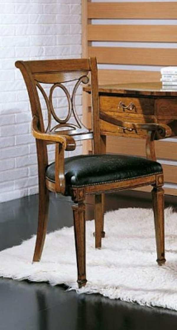Der Stuhl SEVEN SEDIE 0166A Ottocento