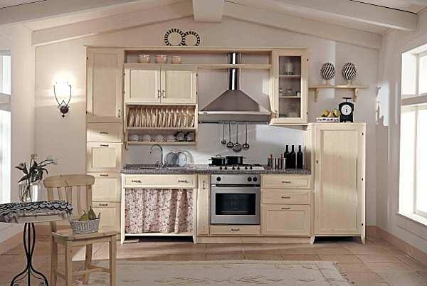 Küche ARRIMOBILI vaniglia New Country