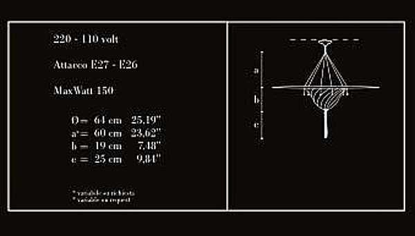 Kronleuchter ARCHEO VENICE DESIGN 211-00