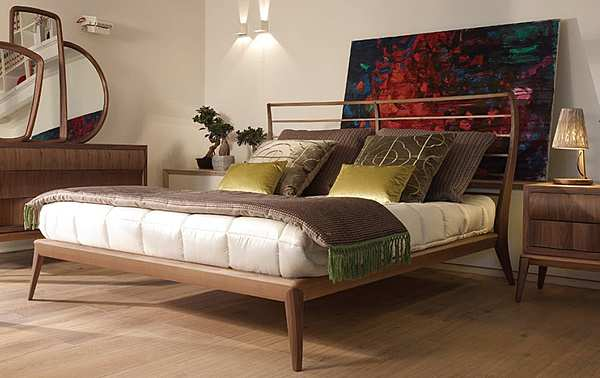 Bett VOLPI 8NLE-001-0IN + 8NLG-003-0IS  CONTEMPORARY LIVING