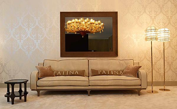 Couch PATINA LC/S116 28 - LE CADRE DIVANO BASSO Glamour