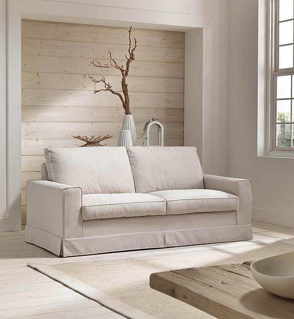 Couch TRECI SALOTTI Pellicano White & Soft