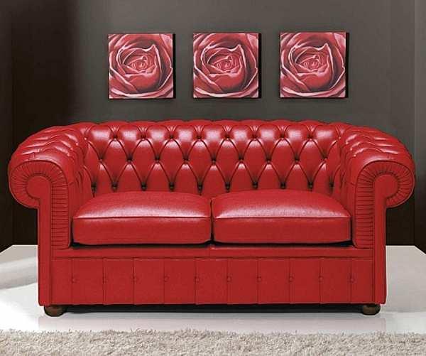 Couch PIERMARIA CHESTER sedie poltrone divani