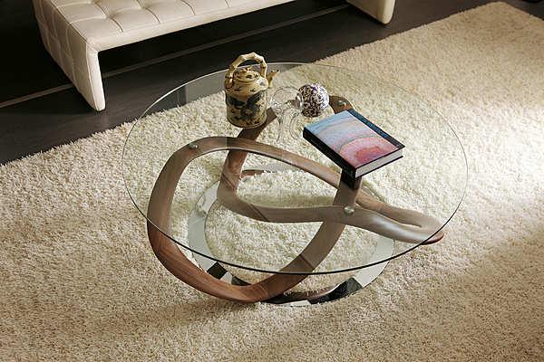 Couchtisch PORADA Infinity tavolino tondo
