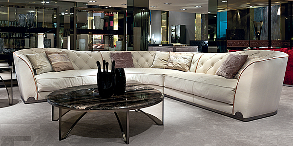 Couch LONGHI (F.LLI LONGHI) W 553 Collection Loveluxe