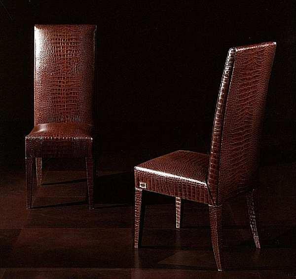 Der Stuhl RUGIANO 5015/GR Copertina BRONZA