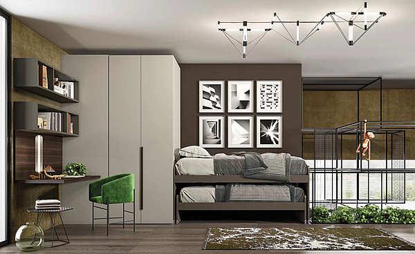 """Schlafzimmer GRANZOTTO Composizione """"CABINA"""" GRIFF"""