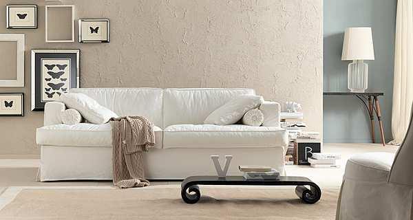 Couch TRECI SALOTTI Nuvola White & Soft
