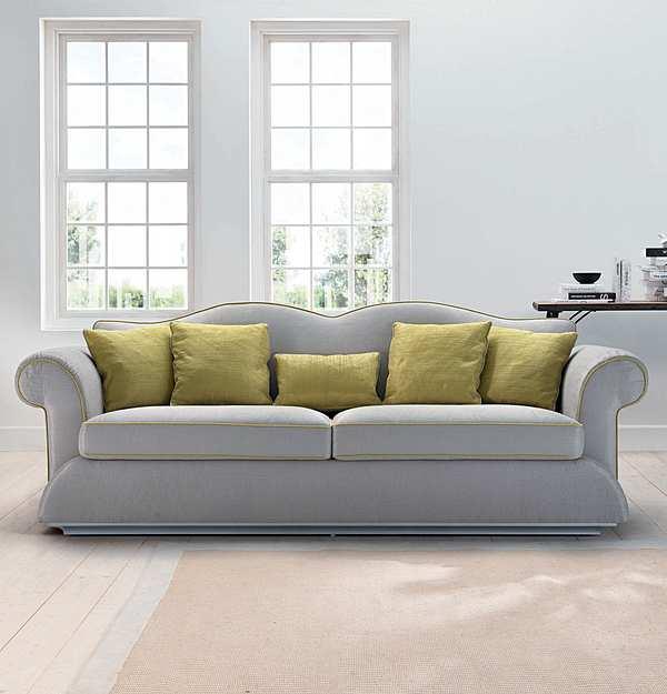Couch TRECI SALOTTI CARTA White & Soft