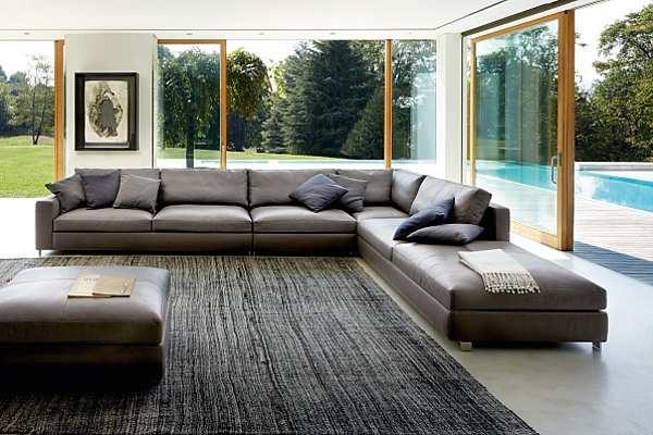 Couch POLTRONA FRAU Massimosistema Le Icone