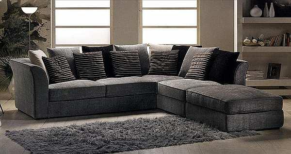 Couch GOLD CONFORT Kempo Catalogo cop. black
