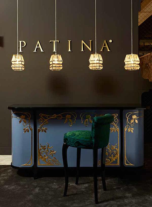 Barhocker PATINA GL/S104 95 - GLAMOUR STOOL Glamour