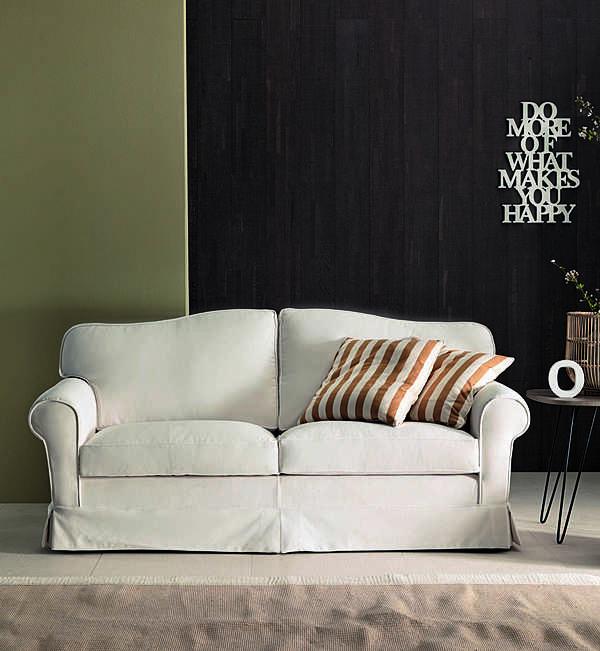 Couch TRECI SALOTTI LATTE White & Soft
