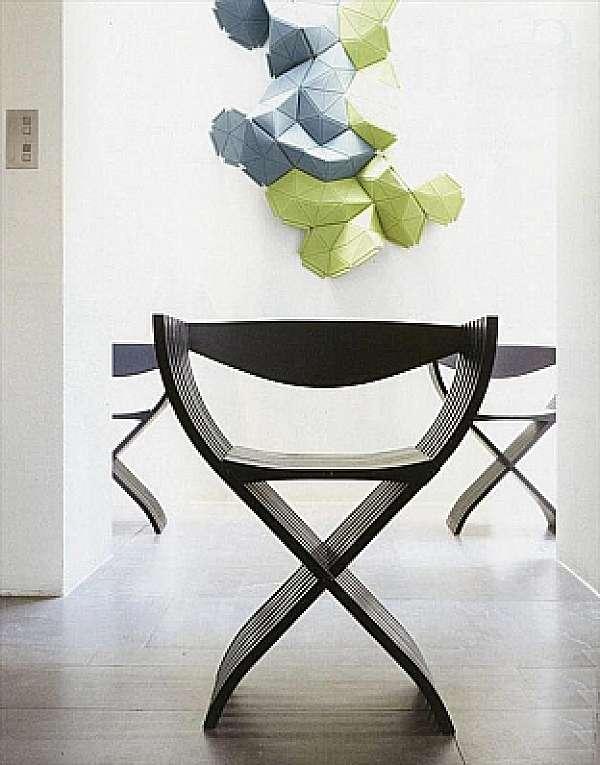 Der Stuhl LIGNE ROSET Curule Imbottiti