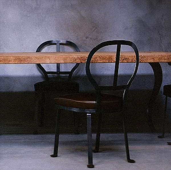 Der Stuhl BAXTER Limetta Punto Oro