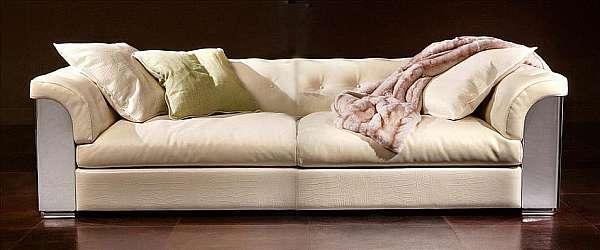 Couch RUGIANO 6066/320 Copertina BRONZA