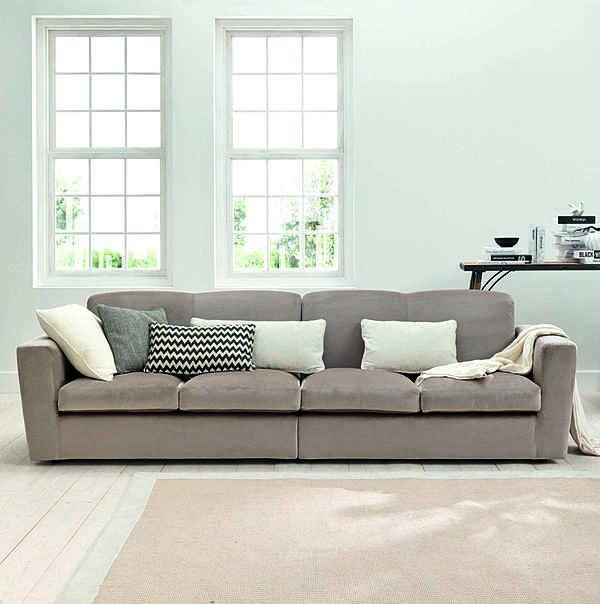 Couch TRECI SALOTTI SPAGO White & Soft