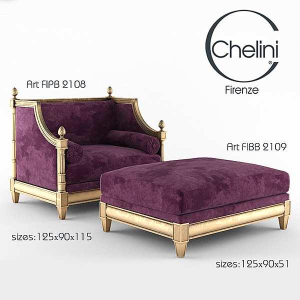 Poof CHELINI 2109 Firenze