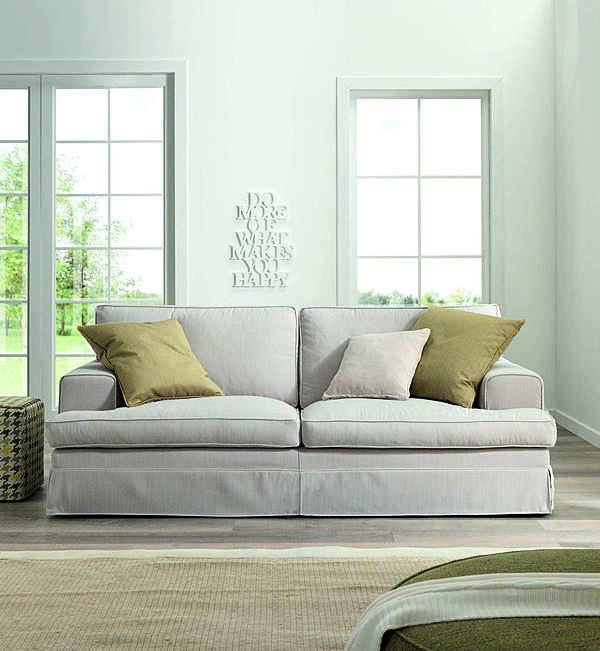 Couch TRECI SALOTTI IVORY White & Soft