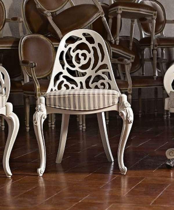 Der Stuhl VOLPI 0576 Classic Living