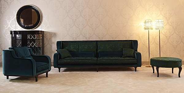 Couch PATINA LC/S115 28 - LE CADRE DIVANO ALTO Glamour
