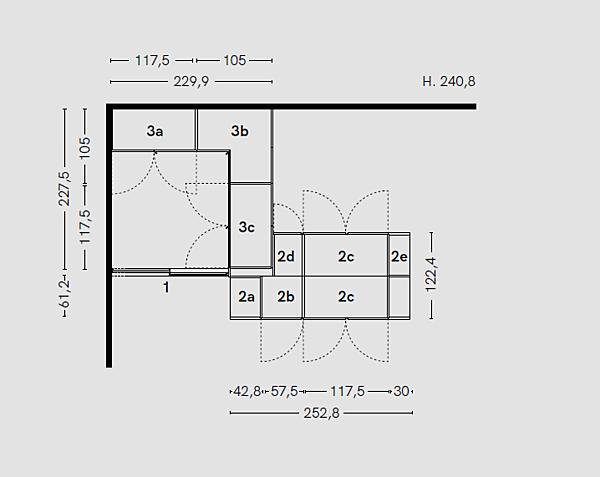 Zusammensetzung Komposition Progetto A. 2
