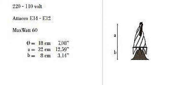 Schreibtischlampe ARCHEO VENICE DESIGN 103-00