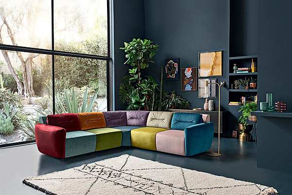 Couch Felis COMPOSIZIONE 05 SOFTLIVING