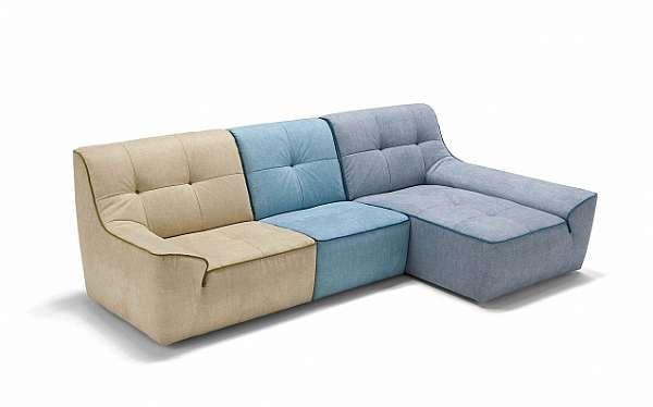 Couch NICOLINE SALOTTI FUNNY Milano High Point 2014