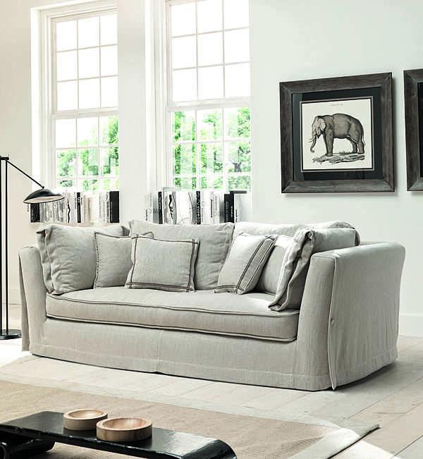 Sofa TRECI SALOTTI Alabastro