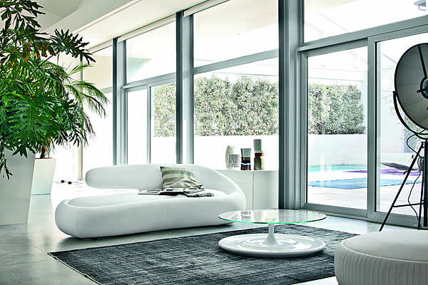 Couch TONIN CASA DUNY - 7380 Inspired by Nature Aprile