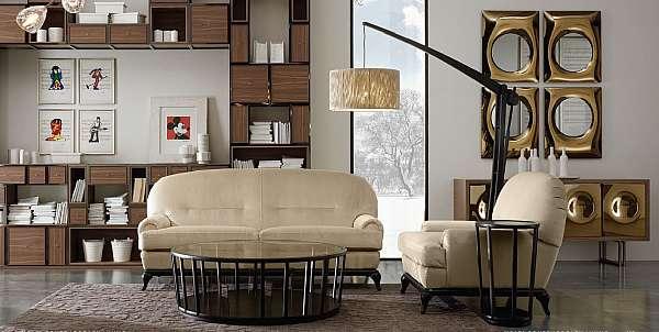 Couch VOLPI 2SLI-003-02M Classic Living