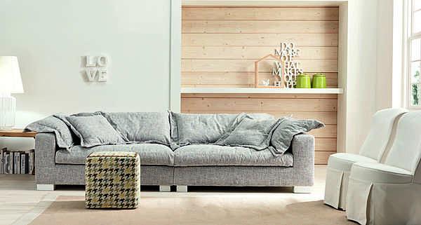 Couch TRECI SALOTTI Polvere White & Soft