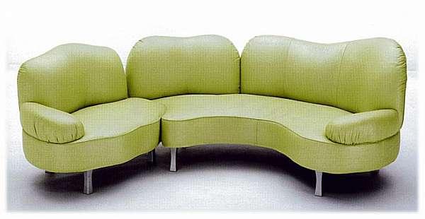 Couch GIOVANNETTI I GIROVAGHI2 Color arancia
