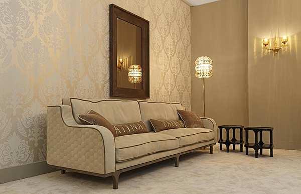 Sofa PATINA LC / S116 28-LE CADRE DIVANO BASSO