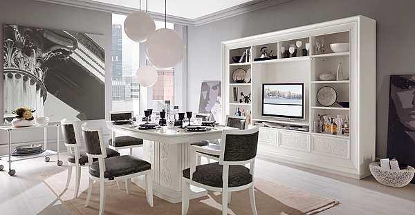 Der Stuhl FRANCESCO PASI 6046 NEW DECO