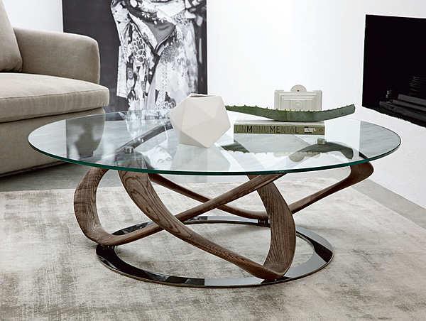 Kaffetisch PORADA Infinity tavolino tondo LOGOS