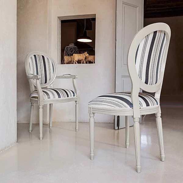 Der Stuhl TONIN CASA NORMA - 1188A Arc En Ciel