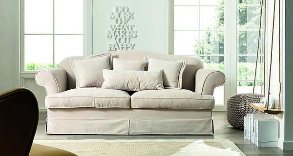 Couch TRECI SALOTTI Tulipano White & Soft