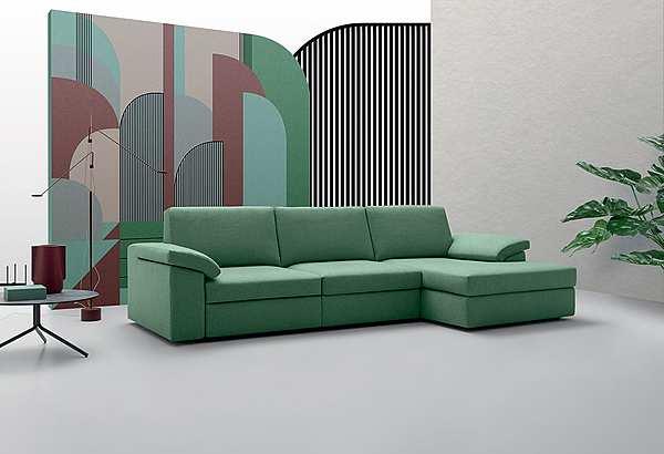 Couch Felis Leon B EVERGREEN