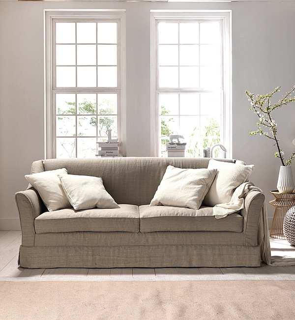Couch TRECI SALOTTI SAPONE White & Soft