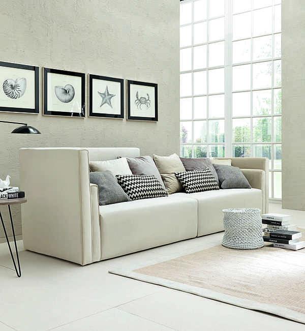 Sofa TRECI SALOTTI Ghiaccio