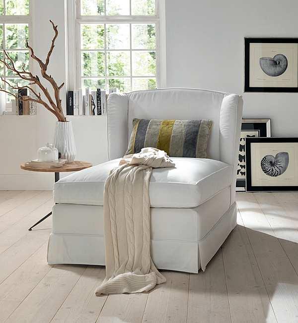 Tagesbett TRECI SALOTTI Schiuma White & Soft