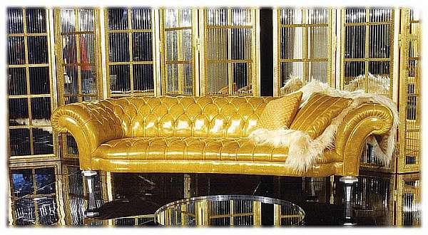 Couch CORNELIO CAPPELLINI 826/D3 Luxury Chic – Oro