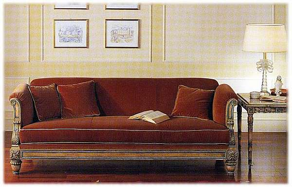 Couch FRANCESCO MOLON (GIEMME STILE) D323-B Italian & French country